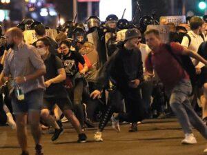 протесты Беларусь