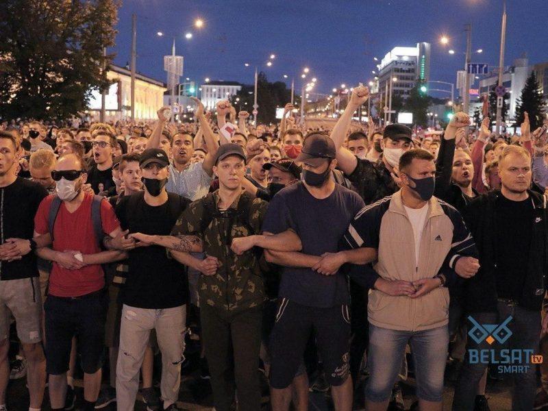 революция Беларусь