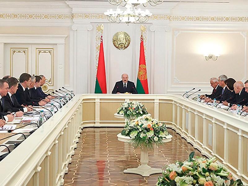 Лукашенко заседание