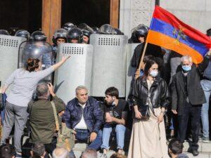 Ереван протесты