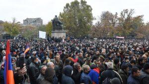 Протесты Ереван