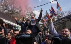 Протесты Армения