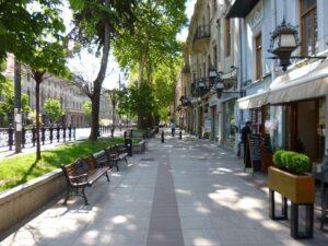 Тбилиси пустой