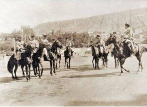 Грузинская кавалерия в 1918 г.