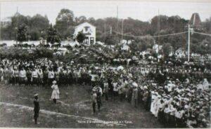 Белая 2-я пехотная дивизия в городе Сочи, освобождённом от войск независимой Грузии. 1919 год