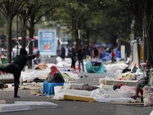 Франция мигранты