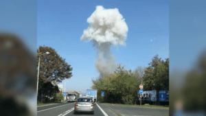 Взрывы во Вребитце