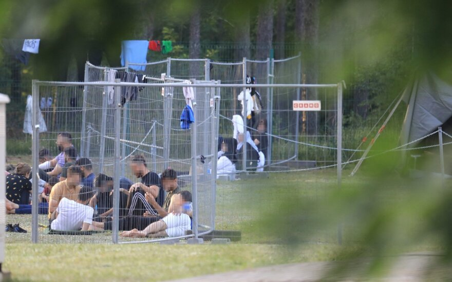 Литва беларусь мигранты