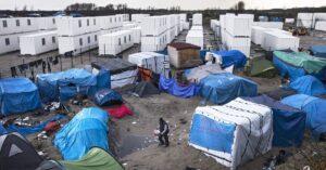 Литва мигранты палаточный городок