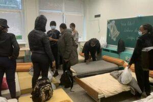 мигранты в литовской школе
