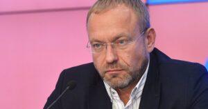 основатель партии «Союз левых сил» Василий Волга